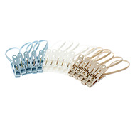 Portable Hanging Clip Clothespeg (15pcs)