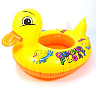 Dark Shaped Inflatable Baby Swim Ring(Random Colors)