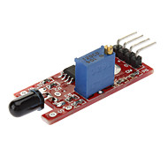 Flame Detection Sensor Module for (For Arduino) DIY project - Red + Blue