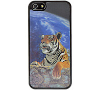 3D Crawling Tiger Image Hard Case for iPhone 5/5S
