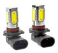 H12 7W 350LM 5-LED White Light Car Fog / Headlamp (DC 12-24V, 1-Pair)