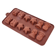 Small Bell Shaped Sugarcraft Silicone Mold for Candy/Cookie/Jelly/Chocolate