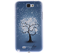 Sneeuw Boom patroon Hard Case voor Samsung Galaxy Note 2 N7100