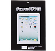 5 X LCD Screen Protectors with Cleaning Clothes for iPad 2/3/4