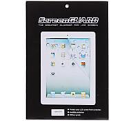 5 X LCD Display-Schutzfolien mit Reinigungs-Kleidung für iPad 2/3/4