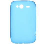 Protective PVC Protective Back Case for HTC Wildfire S G13