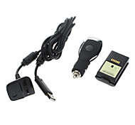 4800mAh Battery Pack+ USB Charging Cable For Xbox 360 Wireless Controller