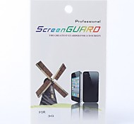 kristallklare LCD Screen Protector für iPhone 3G / 3GS