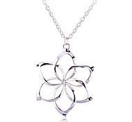 Lureme®Silver the Hexagram Pendant Necklace