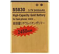 Batería 2450mAh para Samsung Galaxy Ace S5830