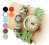 Women's PU Leather Analog Quartz Bracelet Watch (Assorted Colors) Cool Watches Unique Watches