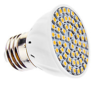 Spot LED Blanc Chaud MR16 E26/E27 3W 60 SMD 3528 240 LM AC 110-130 / AC 100-240 V
