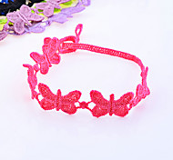 Korean Colorful Butterfly Lace Bracelet(Random color)