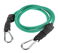 20-Pound Durable Fitness Training Latex Tensile Rope(Green)