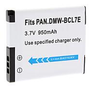 950mAh BCL7E Battery Pack for Pan. DMC-FH50 FS50 F5 SZ3 SZ9 XS1