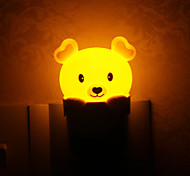 Lovely Bear Style Plug Light LED Night Light