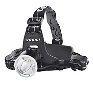 SingFire SF-520 3-Mode Cree XM-L T6 LED Headlamp (900LM, 2x18650, Green)