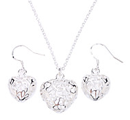 Z&X®  women's Hollow Ball New 925 Sterling Silver Plated Necklace