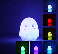 Eggshell Shaped Colorful LED Night Light