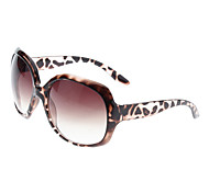 Women's Plain Butterfly Sunglass(Leopard)