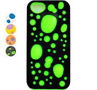 Joyland plastica e silicone amovibile fondello per iphone 5/5s (colori assortiti)