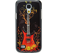 Fashion Guitar Pattern Aluminum Hard Case for Samsung Galaxy S4 mini I9190