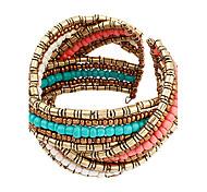 Pulseras y Brazaletes Brazalete personalizado de abalorios Aleación De mujeres