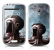 Monster Tree Pattern frontal y traseras del protector Pegatinas para el Samsung Galaxy S3 Mini I8190