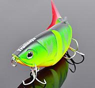 Trulinoya-Hard Mini Bait Four-section Minnow 80mm/10g Slow Sinking Fishing Lure