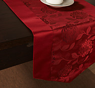 Stile conciso Rose Jacquard Runner