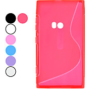 S Style TPU Soft Case for Nokia Lumia 920 (Optional Colors)