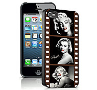 Woman Pattern 3D Effect Case for iPhone5