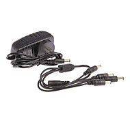 AC 100-240V DC 12V 2A Cord CCTV Power Adapter Camera + 1-4 PARA CAMERA