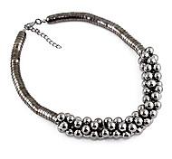 Perle Noire Wide collier