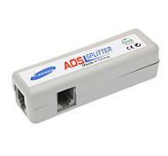 RJ45 ADSL Female to Female Splitter Silver