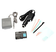 5 Accessory Battery Charger Bundle For Nintendo DS Lite