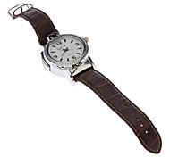 Watch Style Silver Gas Lighter