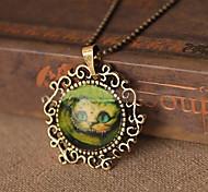 Ожерелья с подвесками Медь Повседневные Бижутерия