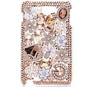 Luxe Sachet Jewel Case voor Samsung Galaxy Note 2 N7100
