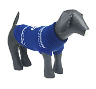Cute Candelabrum Pattern Warm Comfortable Sweater for Pets Dogs (Assorted Sizes)
