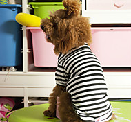 Cool Classic Stripes Style T-shirt for Pets Dogs (Assorted Sizes)