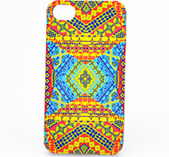 Joyland ABS Yellow Bottom Print Back Case for iPhone 4/4S