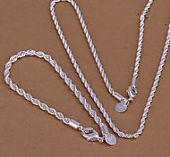 Бижутерия-Ожерелья / Браслеты(Сплав)Повседневные Свадебные подарки