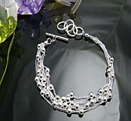 The spherical silver bracelet
