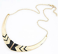 Fake Collar Short Necklace