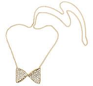 Eruner®Butterfly Pendant Long Necklace