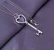 Heart Shaped Key Pendant (Pendant Only)