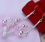 Refill the plating silver earrings