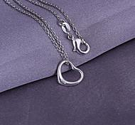 pendentif en modèle de coeur (pendentif seulement)