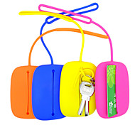 Candy Color Silicone Key Purses (Assorted Colors)